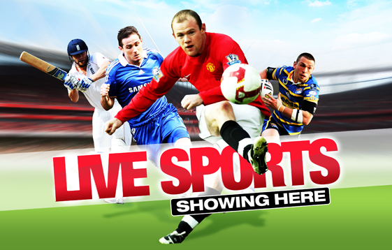 where can I watch live sports